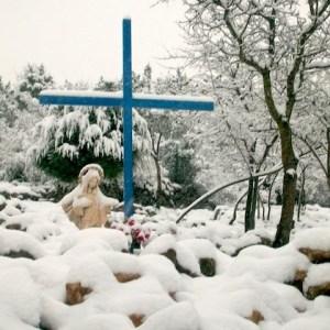 Nieva en Medjugorje