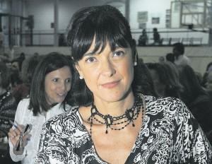 Maria Vallejo-Nágera en Montevideo