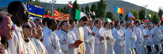 sacerdotes medjugorje