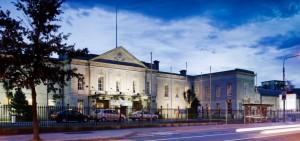 Edificio del Royal Dublin Society, lugar en el que Marija dio su testimonio