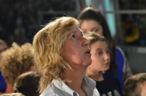 Marija durante una aparición, octubre del 2011