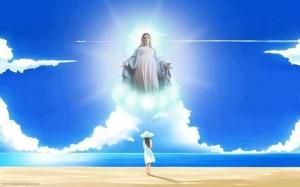 MARIJA, NUESTRA SEÑORA NOS LLAMA A SER FUERTES EN LA FE, UNIDOS A DIOS, PORQUE SI TENEMOS A DIOS LO TENEMOS TODO