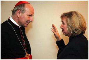 Cardenal Schonborn y Marija
