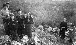 Slavko con los videntes