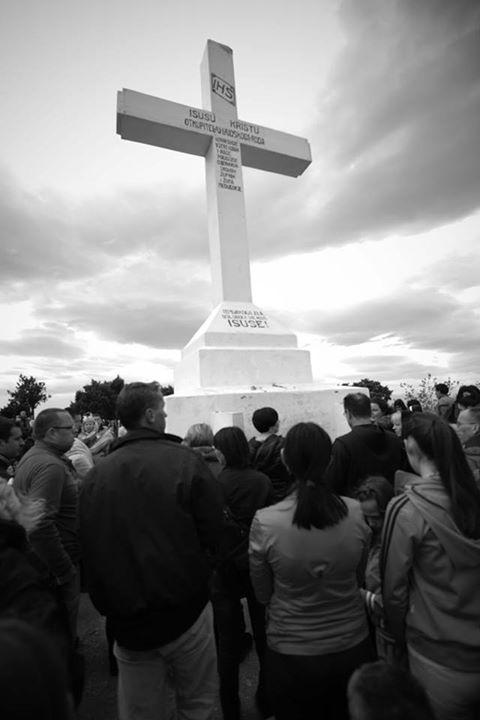 Via Crucis del Viernes Santo en el Krizevac 12