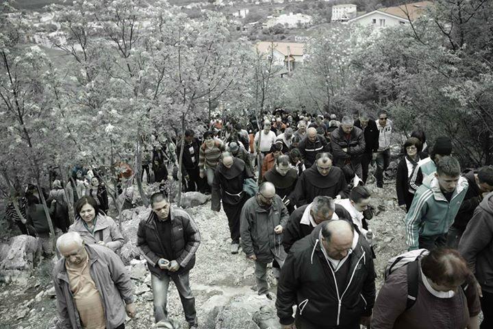 Via Crucis del Viernes Santo en el Krizevac 2