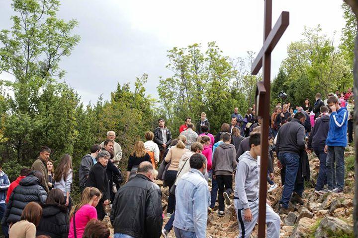 Via Crucis del Viernes Santo en el Krizevac 5