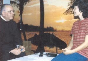 Vicka con Janko Bubalo
