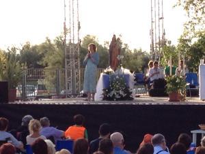 Aparición a la vidente Marija el 29 de agosto de 2014 en Udine - 1