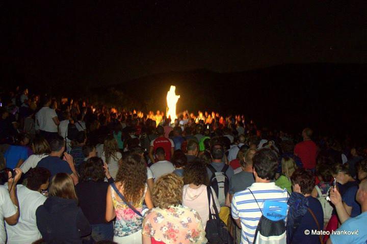 Aparición extraordinaria de la Virgen al vidente Iván el 4 de agosto de 2014 - 1