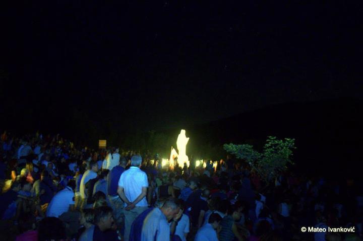 Aparición extraordinaria de la Virgen al vidente Iván el 4 de agosto de 2014 - 5
