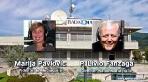 Entrevista del P. Livio a la vidente Marija de Medjugorje