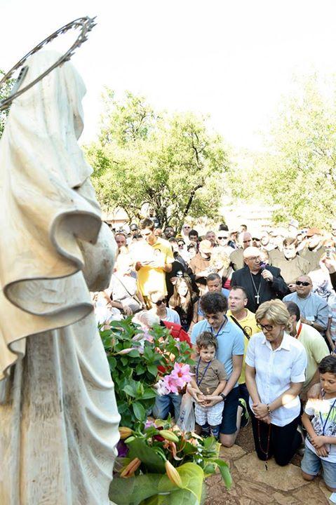 Aparición de la Virgen a Mirjana en Medjugorje el 2 de julio de 2015 - 7