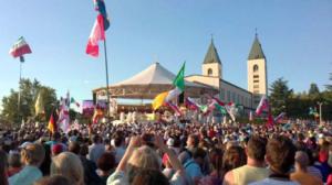 Festival de Jovenes en Medjugorje