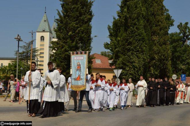 Fiesta de Santiago Apostol en Medjugorje 3