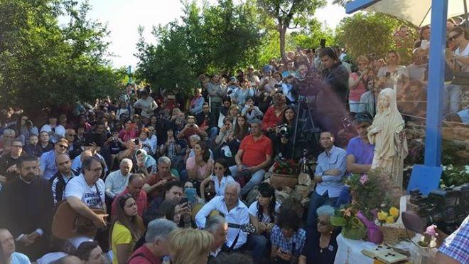 Aparición de la Virgen a Mirjana en Medjugorje el 2 de agosto de 2015 - 1
