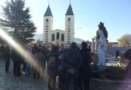Festividad de la Inmaculada Concepción en Medjugorje