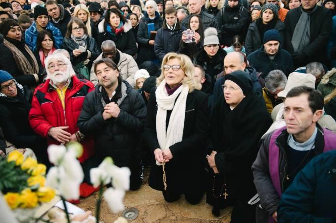 Aparición de la Virgen a Mirjana el 2 de enero de 2016 - 1
