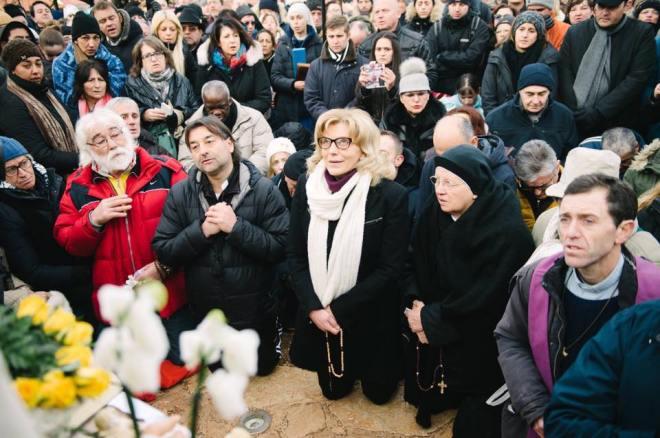 Aparición de la Virgen a Mirjana el 2 de enero de 2016 - 4