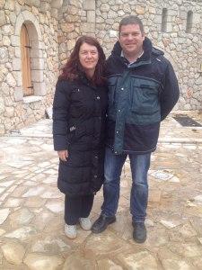 El matrimonio Ljubic- %22En Medjugorje la gente vuelve a encontrar la paz y la oración%22