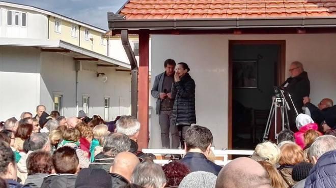 Testimonio de Vicka a los peregrinos en Medjugorje 2