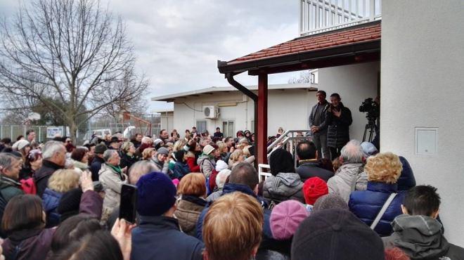 Testimonio de Vicka a los peregrinos en Medjugorje 4