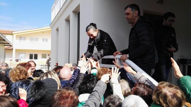 Testimonio de Vicka a los peregrinos en Medjugorje 5