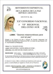 congreso en Argentina