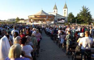 Festividad de la Asunción en Medjugorje