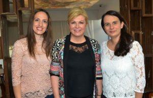 La presidenta de la República de Croacia peregrina a Medjugorje