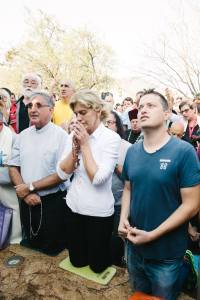 Aparición de la Virgen a Mirjana el 2 de septiembre de 2016 en Medjugorje.