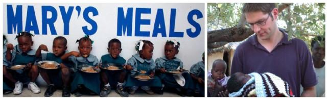 En la actualidad Marys Meals da de comer a 900.000 niños en todo el mundo